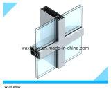 Pared de cortina de cristal visible de la mejor calidad