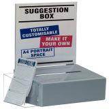 Support acrylique de brochure de bruit, annonçant le présentoir