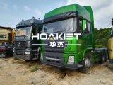 판매 6X4 380HP 디젤 엔진 10 바퀴 트랙터 트럭을 승진시키십시오