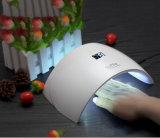 Nuevo diseño automático Sun9s Sun Light UV LED Nail lámpara 24W