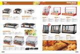 最もよい価格の商業高品質の卸売のための暖まるショーケースの表示