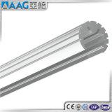 Perfil de alumínio da extrusão do diodo emissor de luz da forma Polished de V