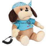 Brinquedos para cães de peluche com t-shirt Rádio