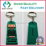 Ballchain를 가진 연약한 PVC Keychain 열쇠 고리 키 홀더 열쇠 고리