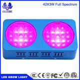 200W LED crecen el espectro completo ligero para las plantas de interior Veg y la flor - interruptor dual del crecimiento/de la floración