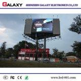 Visualización de LED de la publicidad al aire libre P8/P10/P16 SMD del RGB