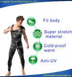 Swimwear normale durevole del camuffamento della maglia del neoprene 3mm con il rilievo di ginocchio