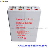 Batteria tubolare 2V2000ah, Opzv2-2000ah del gel di lunga vita