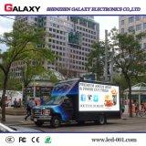 Pantalla de visualización video de P5/P6/P8/P10 LED/el panel/cartelera/muestra/pared al aire libre de alquiler para hacer publicidad del carro/del vehículo/del coche móviles