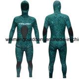 Мокрая одежда Freediving Spearfishing клетки типа Camo неопрена Heiwa Sheico Yamamoto высокого качества открытая с прилипателем., 10