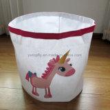 Sacchetto di lavaggio di memoria del sacchetto del sacchetto della lavanderia della tela di canapa