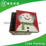 Nueva rectángulo de color impreso del rectángulo de papel del diseño aduana barata hermosa/caja de cartón