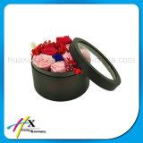Коробка роскошных изготовленный на заказ цветков картона круглых бумажная упаковывая