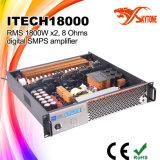 Amplificateur de puissance à canal double stéréo de la classe HD DJ d'I-Tech8000HD