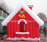 Aufblasbares Weihnachtenhaus, aufblasbares Weihnachtssankt-Zelt