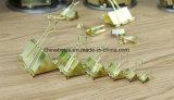 Os grampos dourados da pasta da cor, fabricante de grampos dourados da pasta da cor, grampos da pasta de China, pasta grampeiam a fábrica