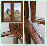 Окно наклона и поворота типа Европ алюминиевое деревянное