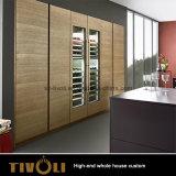 光沢度の高いPUの絵画食器棚および台所家具(AP135)