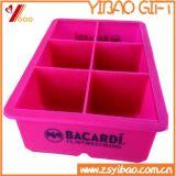Cassetto del cubo di ghiaccio del silicone del commercio all'ingrosso di prezzi di vendita diretta della fabbrica