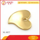 Kundenspezifische Herzform Metall Logo Anhänger für Hangtag