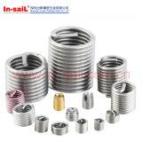 Fixador de aço inoxidável M8 DIN Standarded Wire Thread Inserts