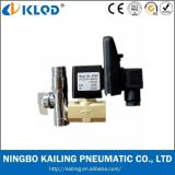 Válvula de solenóide automática do dreno da água do baixo preço de Klpt com temporizador 24V
