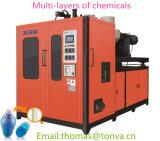 Máquina del moldeo por insuflación de aire comprimido de las Multi-Capas para la botella de los productos químicos