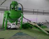 De halfautomatische Machine van het Recycling van de Band aan het Produceren van RubberPoeder (5~100mesh)
