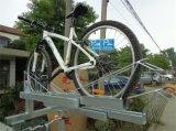 2중 상업적인 자전거 선반 자전거 저장 선반