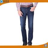 Джинсовая ткань простирания людей OEM фабрики задыхается тощие джинсыы хлопка