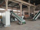 Riga d'appallottolamento riciclata della fibra dell'animale domestico e granulatore di riciclaggio di plastica