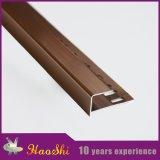 Bordo di alluminio flessibile dell'angolo del testo fisso delle mattonelle