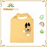 Alta qualità Foldable Dog Shape Promotional Polyester Bag per Shopping