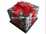 Классическая коробка подарка картона Квадрат-Формы (FAXH0003)
