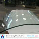 Folha / Curva / Bent Toughened / Tempered Glass for Furniture / Wall Glass