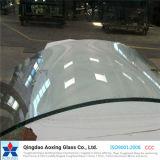 Lo strato/curvo/ha piegato vetro temperato/Tempered per il vetro parete/della mobilia
