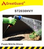 Guanto del nitrile della gomma piuma (ST2030) (certificato del CE)