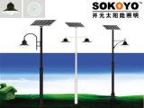lumière solaire de barrière de 15W LED avec 3.5m Polonais