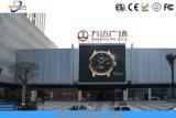 P10 al aire libre impermeabilizan la publicidad de la visualización de LED con alto brillo