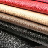 Lederne Fabrik-Kreuzschraffieren-Beschaffenheit Belüftung-synthetisches Leder für Handtasche