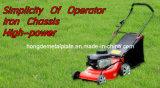 Segadeira de gramado Four-Stroke da gasolina elétrica do impulso da mão
