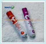 Color de Pelo Crema Cosmética Envases de Aluminio Vacía Tubo Plegable