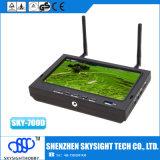 Cielo - 700d Fpv 5,8 G 32CH Diversidad 7 Pulgadas Monitor TFT de Fpv con DVR