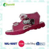 キャンバスの甲革およびTPRの足底、子供のゼリーの靴