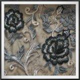 ナイロン網の刺繍のポリアミドの刺繍のレースのテュルの刺繍のレース