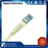 Katze. Steckschnür des Verbinder-6 UTP 24AWG PVC/LSZH 1m blaue RJ45