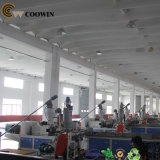 Perfil composto de WPC que faz a máquina, linha de produção composta plástica de madeira do perfil