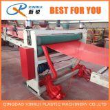 Extrusion de couvre-tapis gravée en relief par plastique de PVC faisant la machine