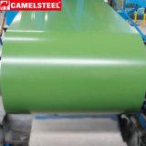 Galvalume enduit d'une première couche de peinture par bobine en acier de construction en acier