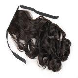 Parrucche ricce lunghe poco costose dei capelli del Ponytail del Brown di vendita della parrucca sintetica calda del Horsetail parrucche del Horsetail dell'arricciatura da 18 pollici